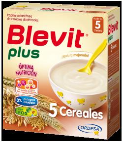 Blevit Plus 5 Cereales 600gr