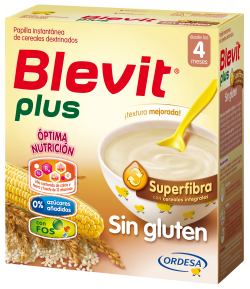 Blevit Plus Superfibra Sin Gluten 600gr