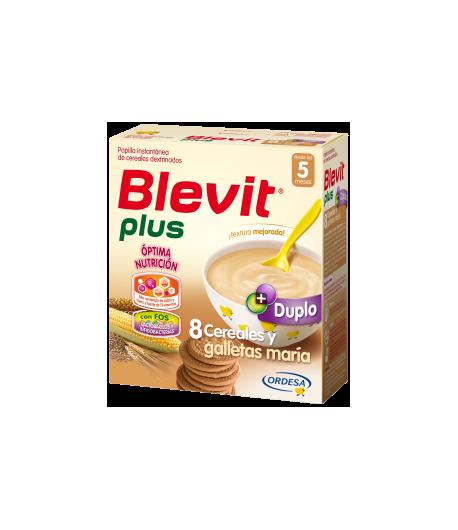 Blevit plus Duplo 8 Cereales y Galletas María 600gr 8 Cereales