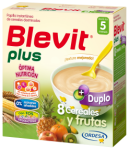 Blevit Plus Duplo 8 Cereales y Frutas 600gr 8 Cereales