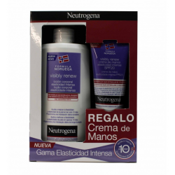 Pack Loción Corporal 400ml + Crema de manos 75ml Visible Renew NEUTROGENA