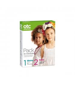 Pack Loción Sin Insecticida 125ml + Acondicionador 125ml OTC Piojos