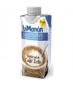 Batido Caffé Latte BIMANAN SUSTITUTIVE 330 ml Sustitutivos