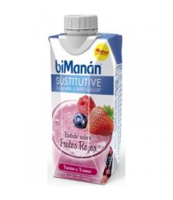 Batido Frutos Rojos BIMANAN SUSTITUTIVE 330 ml Sustitutivos