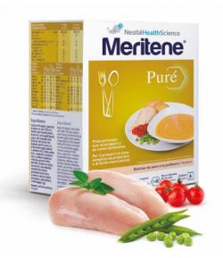 Pavo a la Jardinera MERITENE Puré 450gr