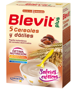 Blevit Plus 5 Cereales y Dátiles 300gr Infantil