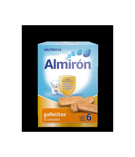 ALMIRÓN Galletitas 6 cereales 180gr Galletitas
