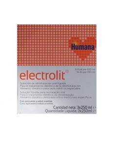 Electrolit 3X250 ml HUMANA