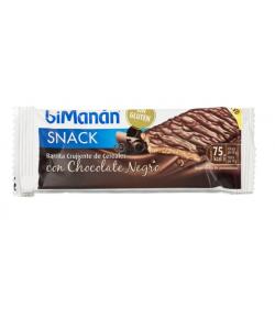 Barrita Crujiente de Cereales Chocolate Negro BIMANAN SNACK 1ud Entre Horas