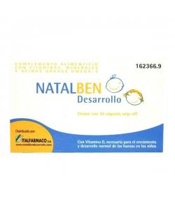 NATALBEN DESARROLLO 30caps Vitaminas