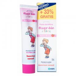 Pasta Dentífrica FLUOR-KIN Infantil 75ml + 25ml