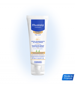 Cold Cream Nutriprotector MUSTELA 40ml
