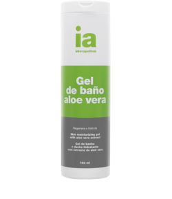Gel de Baño con Extracto de Aloe Vera 750ml INTERAPOTHEK Gel de ducha