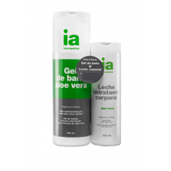 Pack Gel 750ml + Leche Aloe Vera 400ml INTERAPOTHEK