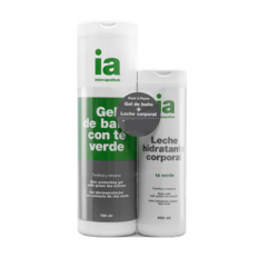 Pack Gel 750ml + Leche Té Verde 400ml INTERAPOTHEK