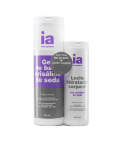 Pack Gel 750ml + Leche Seda 400ml INTERAPOTHEK Gel de ducha