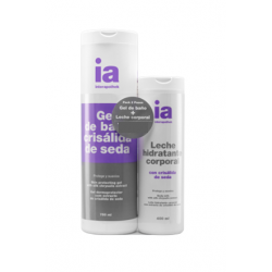 Pack Gel 750ml + Leche Seda 400ml INTERAPOTHEK