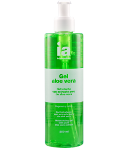 Gel Aloe Vera Puro 250 ml INTERAPOTHEK Hidratantes