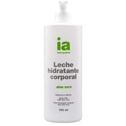 Leche Hidratante Corporal Aloe con Dosificador 750ml INTERAPOTHEK