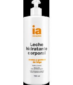Leche Hidratante Corporal Avena y Germen de Trigo con Dosificador 750ml INTERAPOTHEK Hidratantes