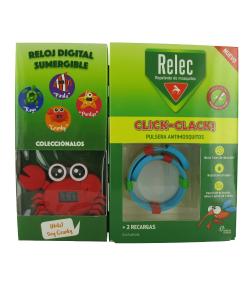 Pulsera Antimosquitos Click - Clack RELEC Repelentes