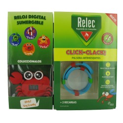 Pulsera Antimosquitos Click - Clack RELEC