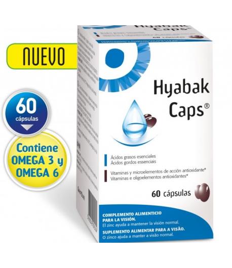Hyabak 60caps Colirios