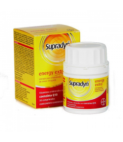 Supradyn Energy Extra 30comp Energía