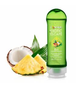 Gel de Masaje Exotic Escape CONTROL 200ml Lubricantes
