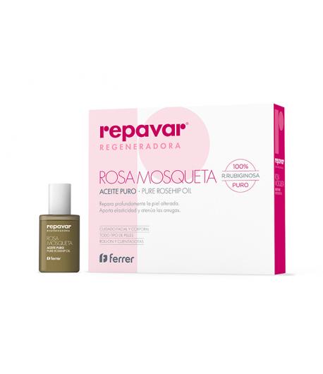 Aceite Puro de Rosa Mosqueta 15ml REPAVAR Regeneradora Cicatrices