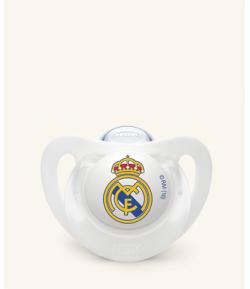Chupete Silicona Real Madrid 6-18m NUK Chupetes