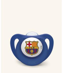 Chupete Silicona FC Barcelona 6-18m NUK Chupetes