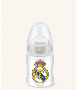 Biberón Silicona Real Madrid 0-6m 150ml NUK Biberones