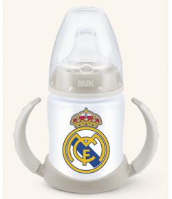 Biberón Entrena Silicona Real Madrid 150ml NUK Biberones