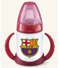 Biberón Entrena Silicona FC Barcelona 150ml NUK Biberones
