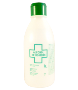 Alcohol de Romero 250ml INTERAPOTHEK