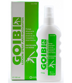 Antimosquitos Familia Spray GOIBI 100ml Repelentes
