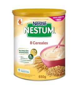 Papilla Nestum 8 Cereales 650gr NESTLE 8 Cereales