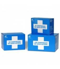 Compresas de Gasas Estériles 25ud INTERAPOTHEK Algodón y Gasas
