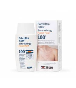 Fotoprotector Solar Allergy Fusion Fluid 100+ ISDIN 50ml