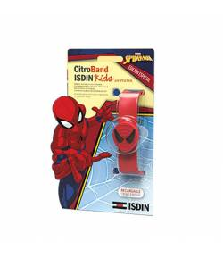 Pulsera Antimosquitos Citroband Kids Spiderman ISDIN Repelentes