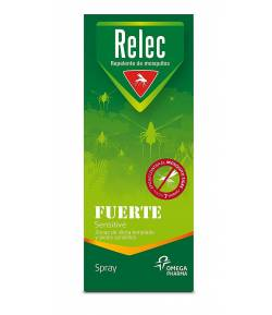 Spray Antimosquitos Fuerte Sensitive RELEC 75ml Repelentes