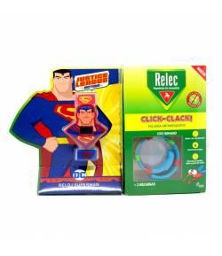 Pulsera Antimosquitos Superman RELEC