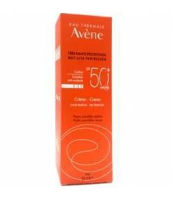 Crema Sin Perfume SPF 50+ AVÈNE 50ml Protección solar