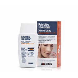 Fotoprotector Active Unify Fusion Fluid Color 100+ ISDIN 50ml