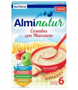 ALMINATUR Cereales con Manzana 250gr 8 Cereales