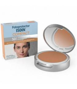 Fotoprotector Compact Bronce SPF 50+ ISDIN 10gr