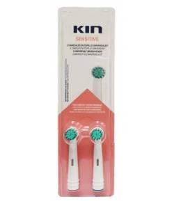 Recambio Sensitive Cepillo Eléctrico 2ud KIN Cepillos