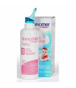 RHINOMER Baby Fuerza Extra Suave 115ml+20ml Suero Fisiológico