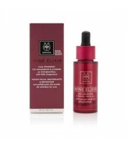 Aceite Facial Reafirmante & Reparador 30ml WINE ELIXIR APIVITA